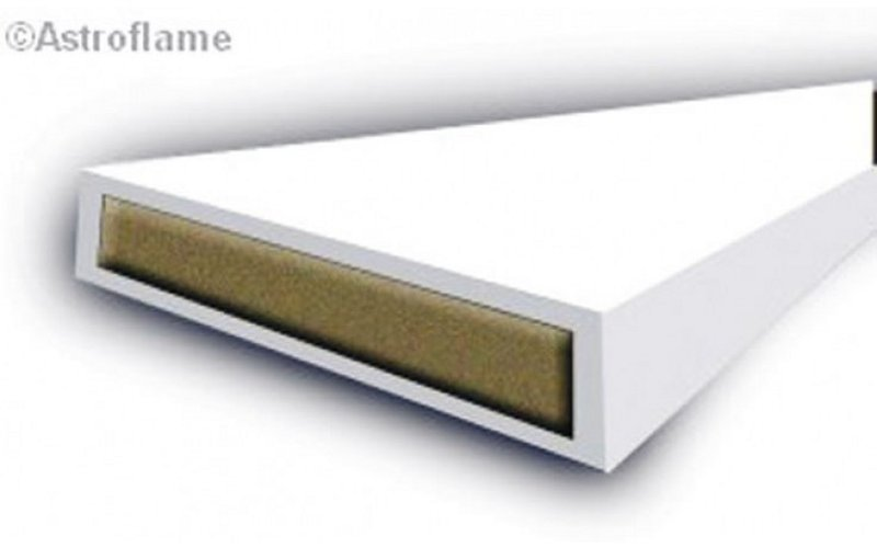 10mm Intumescent fire seal - white